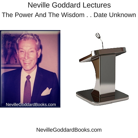 Neville Goddard Lecture Collection