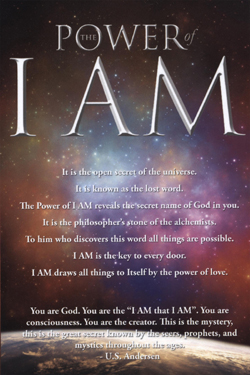 The Book, The Power of I AM